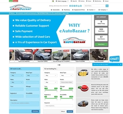New and Used automobile dealer in Japan